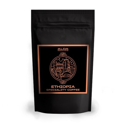 ALDA Ethiopia - 500 г кафе на зърна
