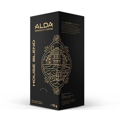 ALDA Speciality Coffee House Blend - 16 филтър дози