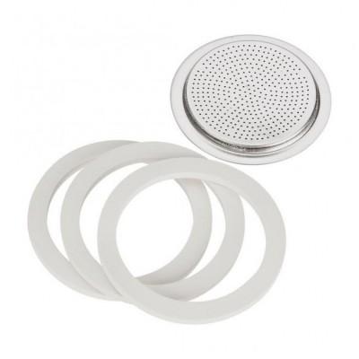 Комплект 3 броя уплътнител + филтър за Brikka 4 чаши