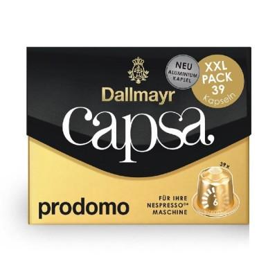 Dallmayr Capsa Prodomo XXL - 39 капсули, съвместими с Nespresso