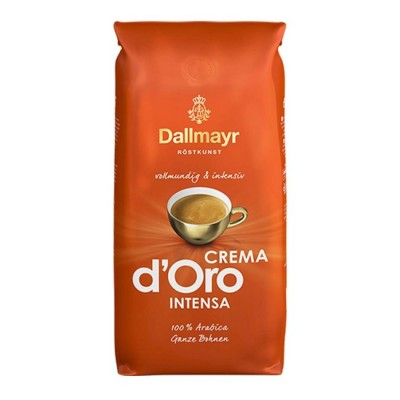Dallmayr Crema d'Oro Intensa - 1 кг кафе на зърна
