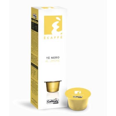 Ècaffè Te Nero Al Limone - черен чай с лимон - 10 капсули
