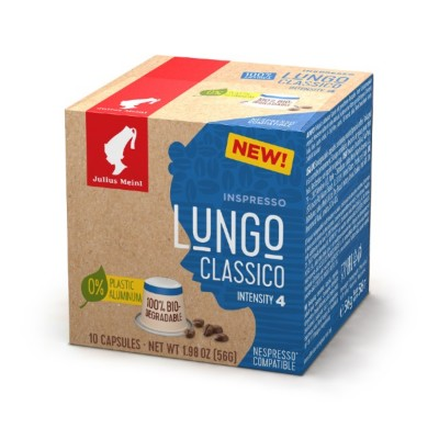 Julius Meinl Inspresso Lungo Classico - капсули, съвместими с Nespresso - 10 броя