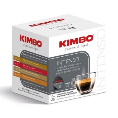Kimbo Intenso - 16 капсули, съвместими с Dolce Gusto