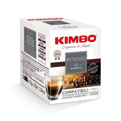 Kimbo Intenso - 10 капсули, съвместими с Lavazza A Modo Mio