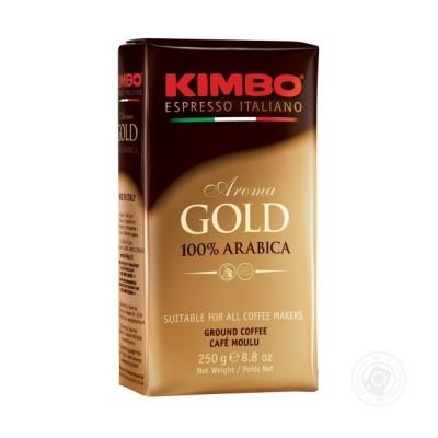 Kimbo Aroma Gold 100% Arabica – 250 г мляно кафе