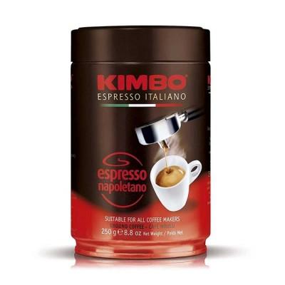 Kimbo Espresso Napoletano – 250 г мляно кафе в метална кутия