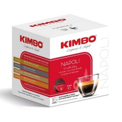 Kimbo Napoli - 16 капсули, съвместими с Dolce Gusto
