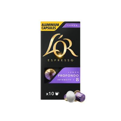 LOR Profondo - капсули, съвместими с Nespresso -10 бр.