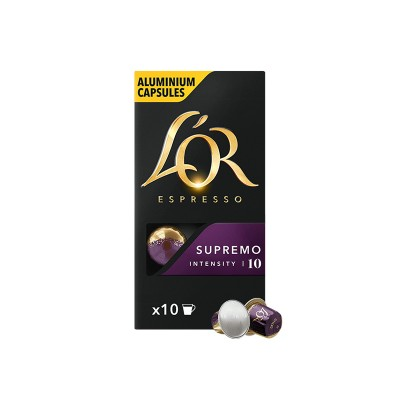 LOR Supremo - капсули, съвместими с Nespresso -10 бр.