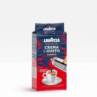 Lavazza Crema e Gusto - мляно кафе 250 г