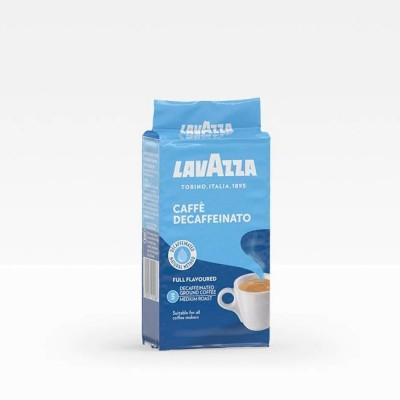 Lavazza Caffè Decaffeinato - безкофеиново мляно кафе 250 г