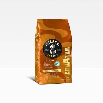 Lavazza ¡TIERRA! Brasile Espresso Balanced - кафе на зърна 1 кг
