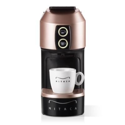 Кафемашина Mitaca М1 V2.0 за капсули MPS - розово злато и черно