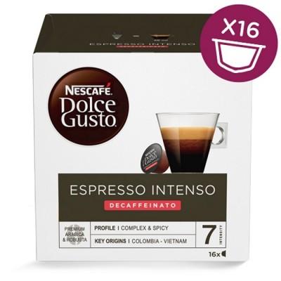 Nescafé Dolce Gusto Espresso Intenso Decaffeinato - 16 капсули