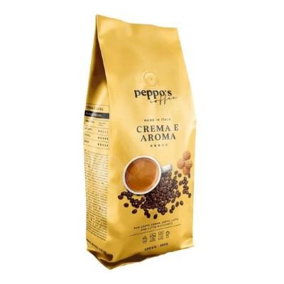 Peppo's Coffee Crema e Aroma - 1 кг кафе на зърна
