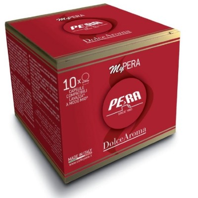 Pera Dolce Aroma - 10 капсули, съвместими с Lavazza A Modo Mio