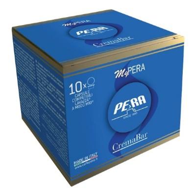 Pera Crema Bar - 10 капсули, съвместими с Lavazza A Modo Mio