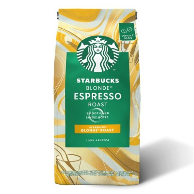 STARBUCKS Blonde Espresso Roast - 200 г кафе на зърна