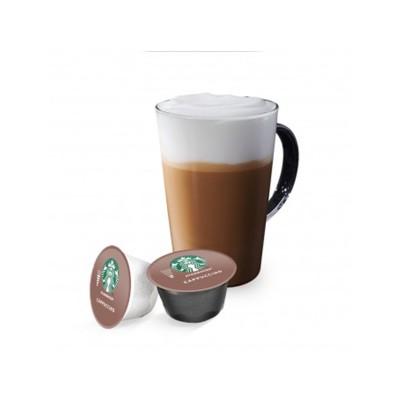 STARBUCKS Caffè Latte - 12 капсули, съвместими с Dolce Gusto
