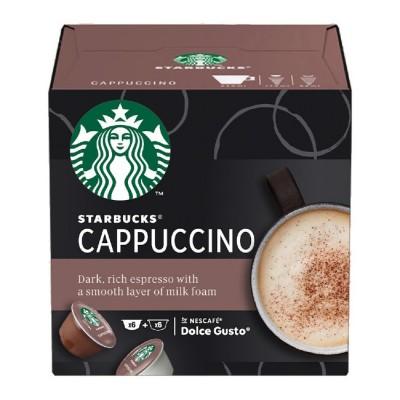 STARBUCKS Cappuccino - 12 капсули, съвместими с Dolce Gusto