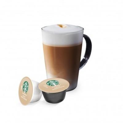 STARBUCKS Latte Macchiato - 12 капсули, съвместими с Dolce Gusto