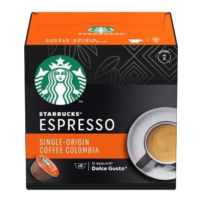 STARBUCKS Single Origin Coffee Colombia - 12 капсули, съвместими с Dolce Gusto