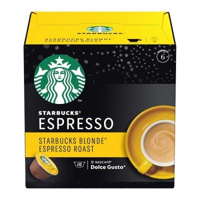 STARBUCKS Blonde Espresso Roast - 12 капсули, съвместими с Dolce Gusto