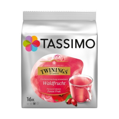 Tassimo Twinings Waldfrucht горски плод - 16 напитки