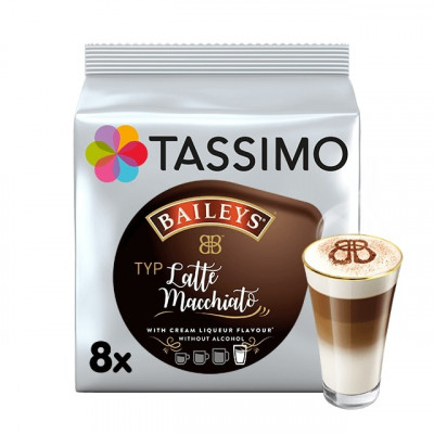 Tassimo Baileys Latte Macchiato - 8 напитки