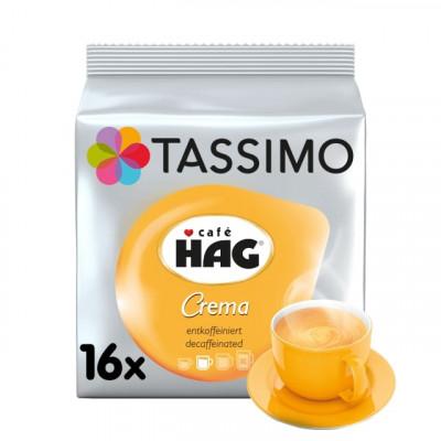 Tassimo Café HAG Crema без кофеин - 16 напитки