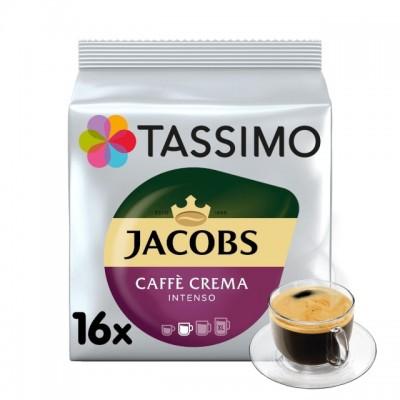 Tassimo Jacobs Caffé Crema Intenso - 16 напитки