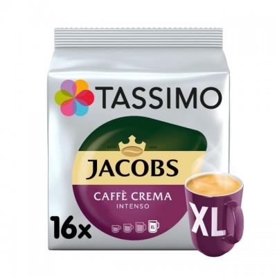 Tassimo Jacobs Caffé Crema Intenso XL - 16 напитки