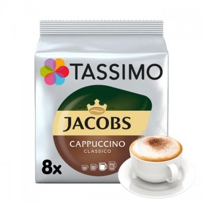 Tassimo Jacobs Cappuccino Classico - 8 напитки