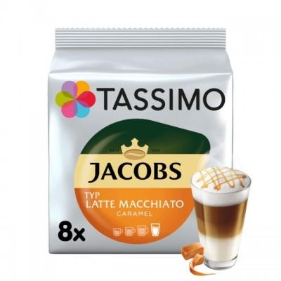 Tassimo Jacobs Latte Macchiato Caramel - 8 напитки