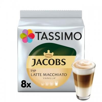 Tassimo Jacobs Latte Macchiatto Vanilla - 8 напитки