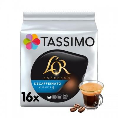 Tassimo L'OR Espresso Decaffeinato - 16 напитки