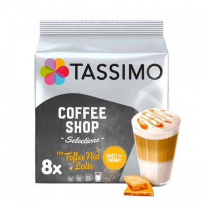 Tassimo Toffee Nut Latte – 8 напитки