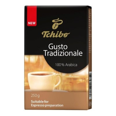 Tchibo Gusto Tradizionale - 250 г мляно кафе