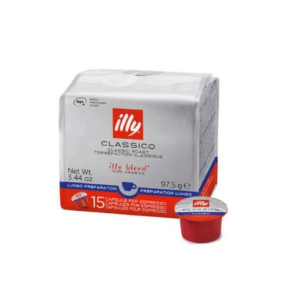 illy Lungo Classico – капсули MPS – 15 броя