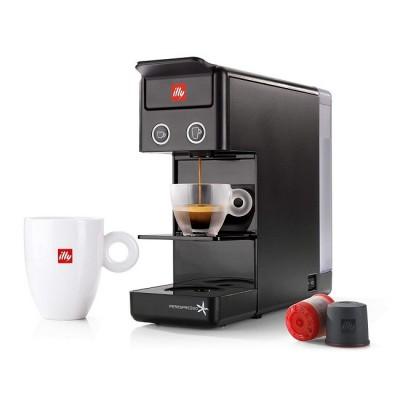 Еспресо и кафе машина Francis Francis! Y3.3 за капсули illy iperEspresso - черна