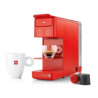 Еспресо и кафе машина Francis Francis! Y3.3 за капсули illy iperEspresso - червена