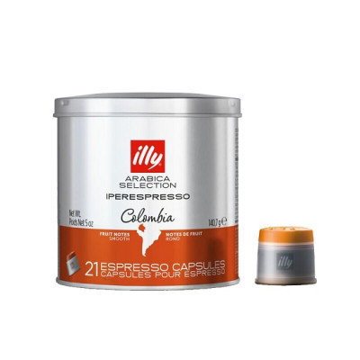 illy Arabica Selection Colombia – капсули iperEspresso – 21 броя