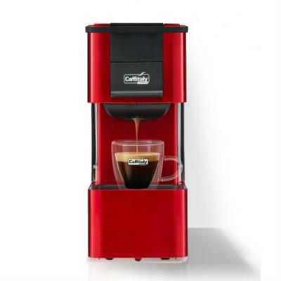 Капсулна кафемашина Caffitaly System IRIS S27 - червена