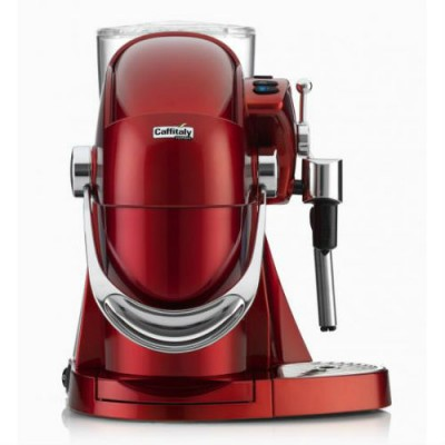Капсулна кафемашина Caffitaly System NAUTILUS S116HS - червена