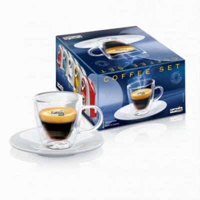 Комплект чаши за еспресо Caffitaly System с двойно дъно 60 мл – 2  броя