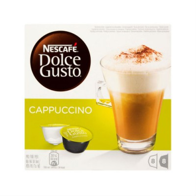 Nescafé Dolce Gusto Cappuccino - 16 капсули за 8 напитки