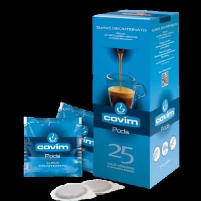 Covim Decaffeinato Suave - 25 филтър дози