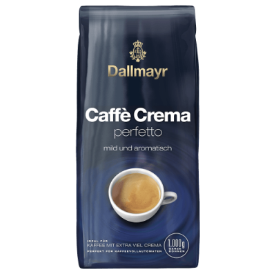 Dallmayr Crema Perfetto - 1 кг кафе на зърна