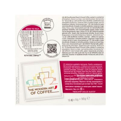 Espresso Decaffeinato - Nescafè Dolce Gusto - 16 броя